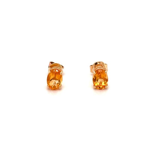 Citrine Earrings Jais Providenciales,