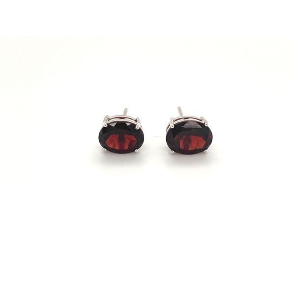Garnet Earrings Jais Providenciales,