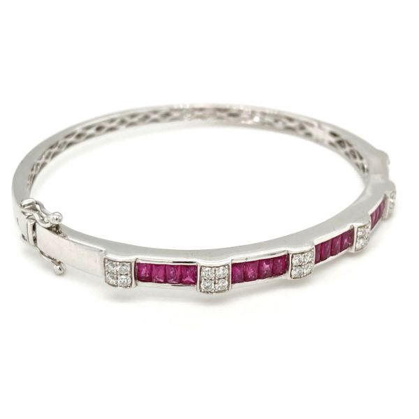Ruby & Diamond Bangle Jais Providenciales,