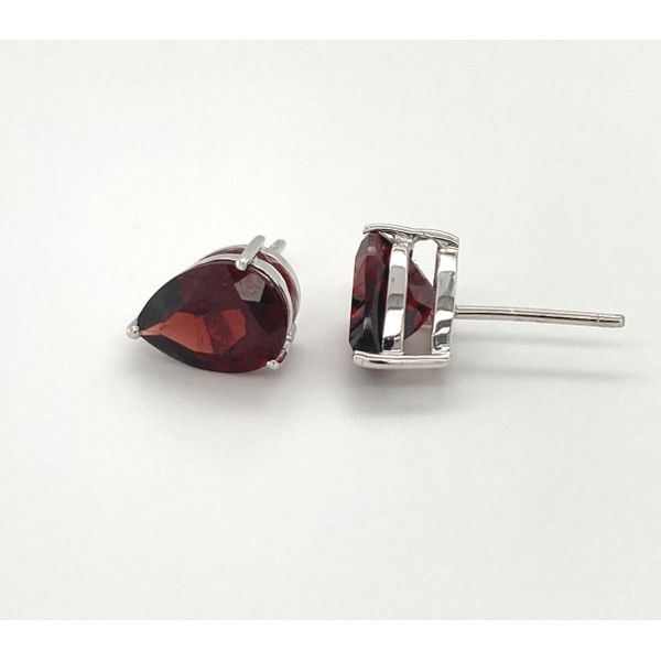 Garnet Earrings Image 2 Jais Providenciales,