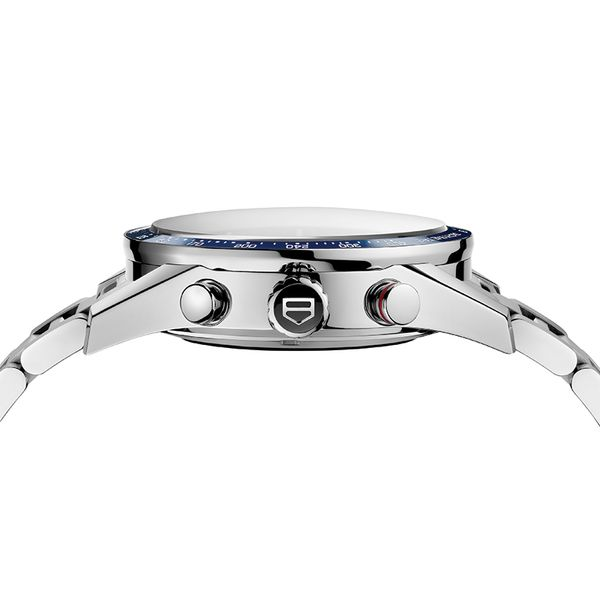 TAG Heuer Carrera Calibre 16 Automatic Mens Blue Steel Chronograph Image 3 Jais Providenciales,