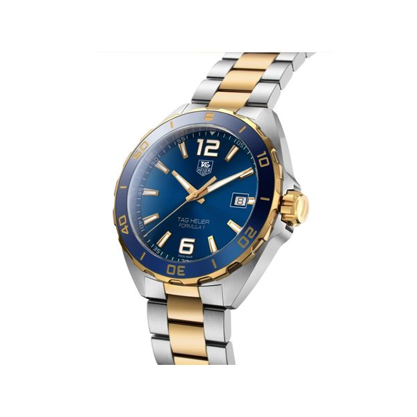 TAG Heuer Formula 1 Quartz Mens Blue Steel/Yellow Gold Watch Image 2 Jais Providenciales,