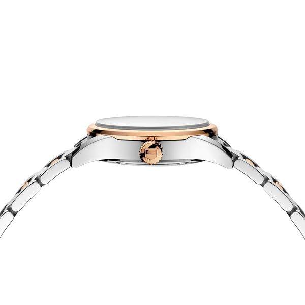 TAG Heuer Carrera Quartz Ladies Mother of Pearl Steel & Rose Gold capped Watch Image 3 Jais Providenciales,