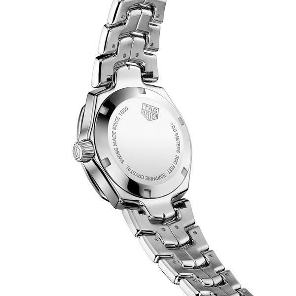 TAG Heuer Link Quartz Ladies Mother of Pearl Steel Watch Image 4 Jais Providenciales,