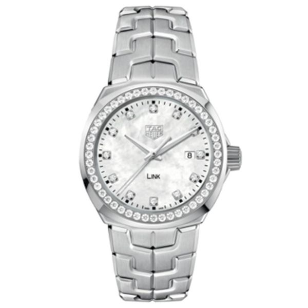 TAG Heuer Link Quartz Ladies Mother of Pearl Steel Watch Jais Providenciales,