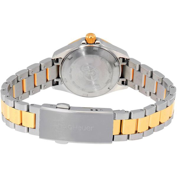 TAG Heuer Aquaracer Quartz Ladies Mother of Pearl Steel & Yellow Gold Coating Watch Image 3 Jais Providenciales,