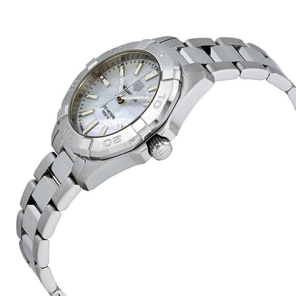 TAG Heuer Aquaracer Quartz Ladies Mother of Pearl Steel Watch Image 3 Jais Providenciales,