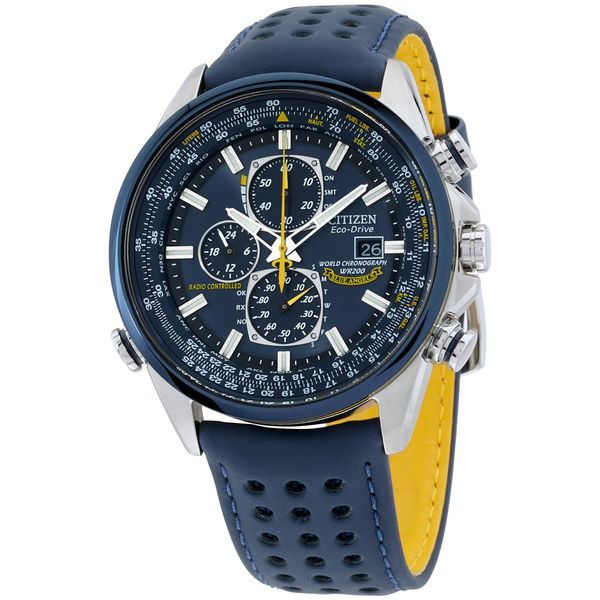 Blue Angels World  Chronograph A-T Watch Jais Providenciales,