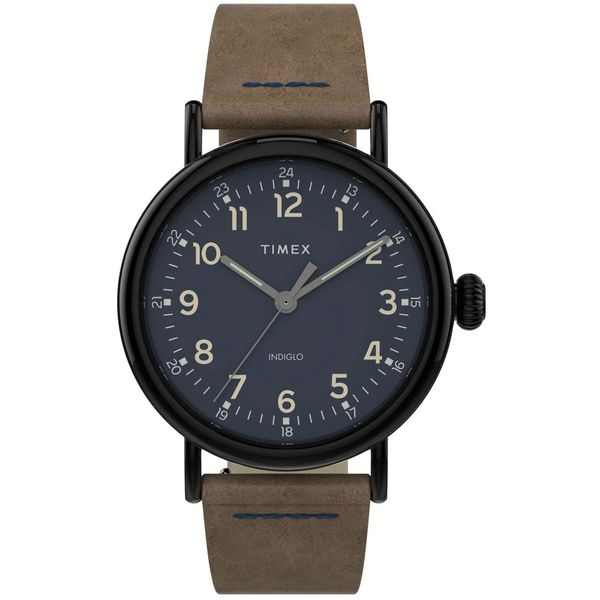 Timex Standard 40mm Leather Strap Watch Jais Providenciales,