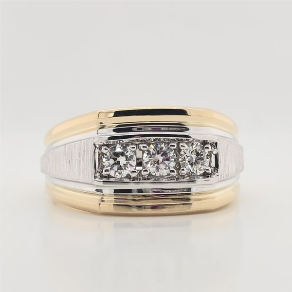 Men's Wedding Band J David Jewelry Broken Arrow, OK