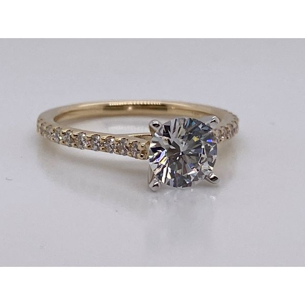 Diamond Semi-Mount Ring J. David Jewelry Broken Arrow, OK