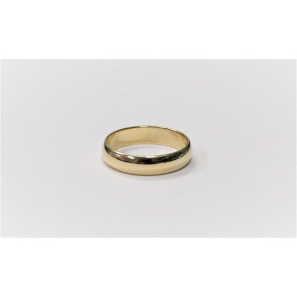 4mm Yellow Gold Band J. Howard Jewelers Bedford, IN