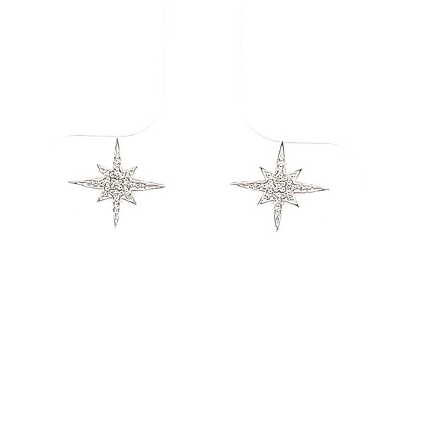 Diamond Earrings John Michael Matthews Fine Jewelry Vero Beach, FL