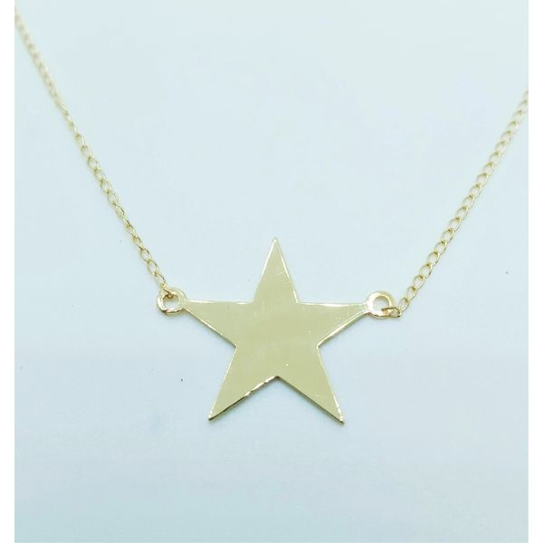 Vintage 14ky star necklace John Michael Matthews Fine Jewelry Vero Beach, FL
