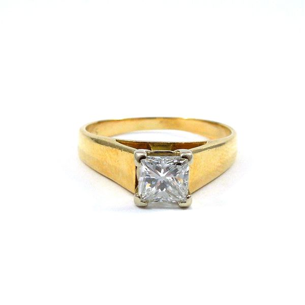 Princess Cut Solitaire Engagement Ring Joint Venture Jewelry Cary, NC