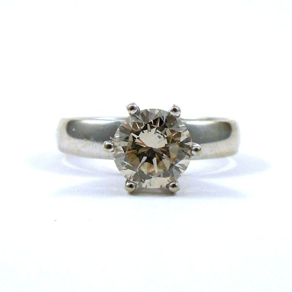 Solitaire Diamond Engagement Ring Joint Venture Jewelry Cary, NC