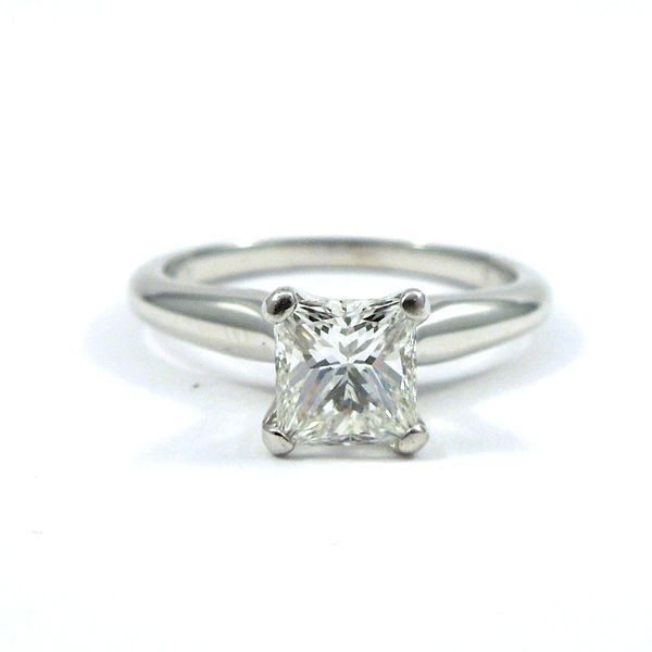 Princess Cut Diamond Engagement Ring Joint Venture Jewelry Cary, NC