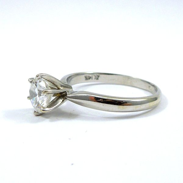 Solitaire Diamond Engagement Ring Image 2 Joint Venture Jewelry Cary, NC