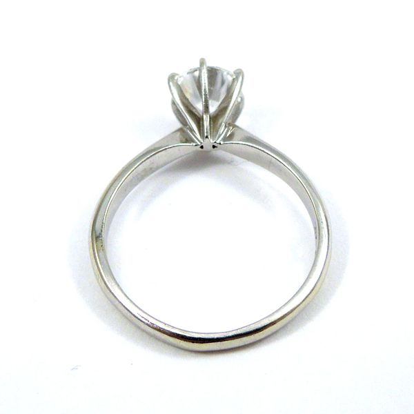 Solitaire Diamond Engagement Ring Image 3 Joint Venture Jewelry Cary, NC