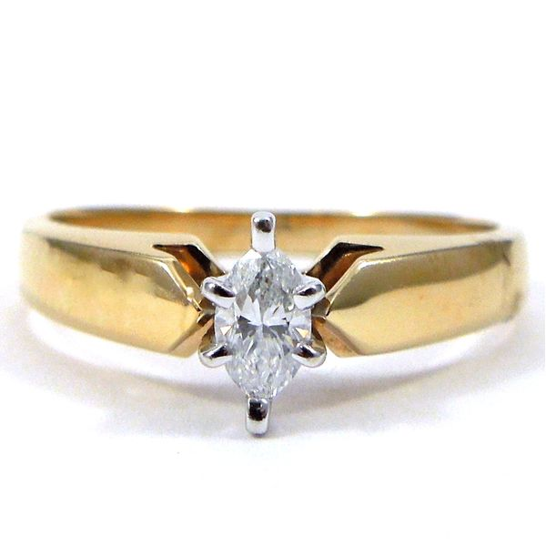 Marquise Cut Diamond Engagement Ring Joint Venture Jewelry Cary, NC