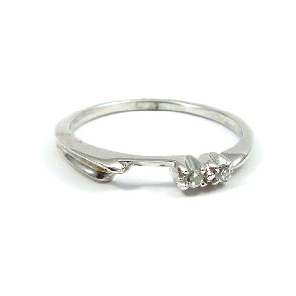 Diamond Engagement Ring with Matching Wedding Band Image 5 Joint Venture Jewelry Cary, NC