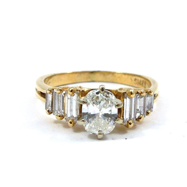 Oval Diamond Engagement Ring Joint Venture Jewelry Cary, NC