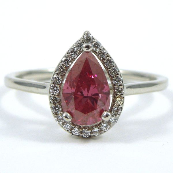 Pink Diamond Engagement Ring Joint Venture Jewelry Cary, NC