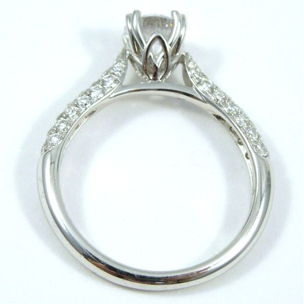 Round Diamond Engagement Ring Image 2 Joint Venture Jewelry Cary, NC