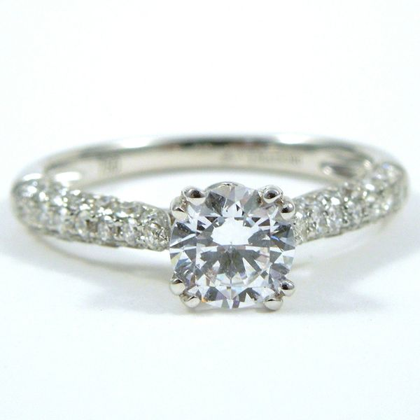 Round Diamond Engagement Ring Joint Venture Jewelry Cary, NC