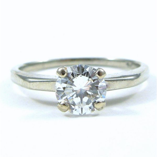 Diamond Solitaire Engagement Ring Joint Venture Jewelry Cary, NC