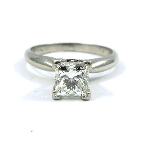 Princess Cut Engagement Ring Joint Venture Jewelry Cary, NC