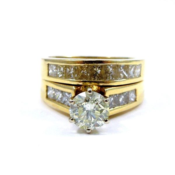Diamond Engagement Ring Set Joint Venture Jewelry Cary, NC