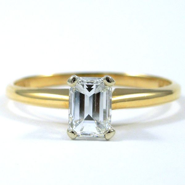 Emerald Cut Diamond Engagement Ring Joint Venture Jewelry Cary, NC