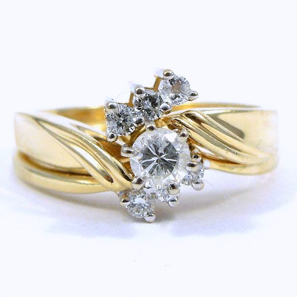 Diamond Engagement Ring and Wrap Joint Venture Jewelry Cary, NC
