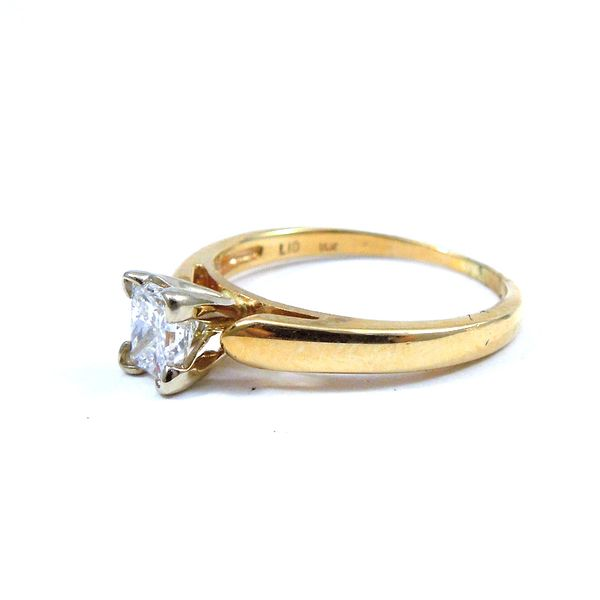 Princess Cut Diamond Engagement Ring Image 2 Joint Venture Jewelry Cary, NC
