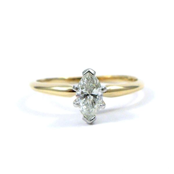 Marquis Cut Diamond Engagement Ring Joint Venture Jewelry Cary, NC