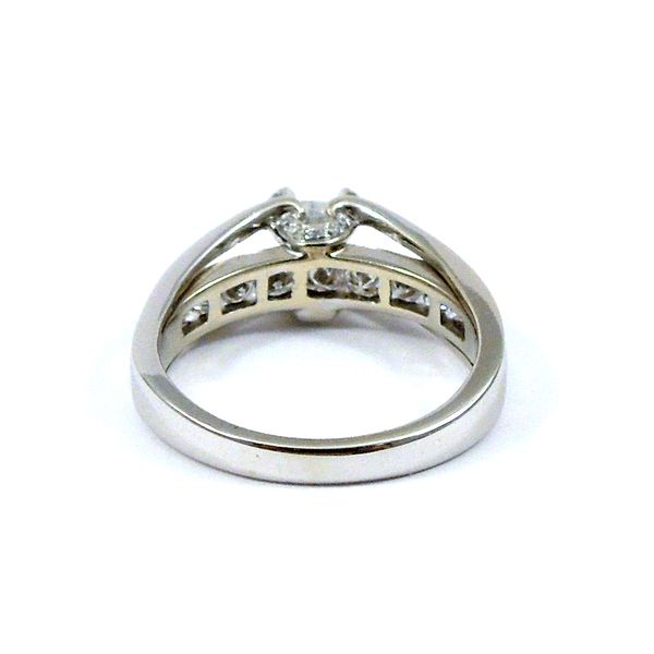 Princess Cut Diamond Engagement Ring Image 3 Joint Venture Jewelry Cary, NC