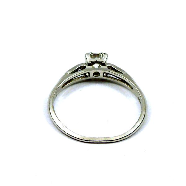 Squared Diamond Engagement Ring Image 3 Joint Venture Jewelry Cary, NC