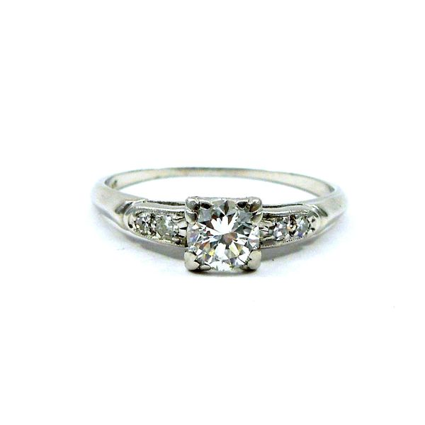Squared Diamond Engagement Ring Joint Venture Jewelry Cary, NC