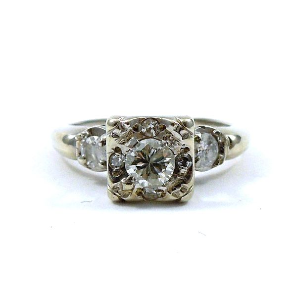 Transition Cut Diamond Engagement Ring Joint Venture Jewelry Cary, NC