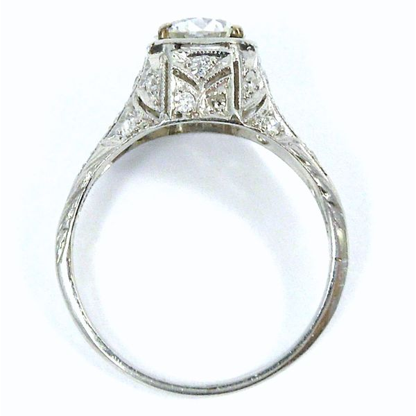 Euro Cut Diamond Engagement Ring Image 2 Joint Venture Jewelry Cary, NC