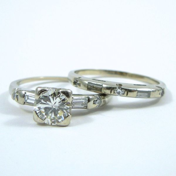 Transition Cut Diamond Engagement Ring Image 2 Joint Venture Jewelry Cary, NC