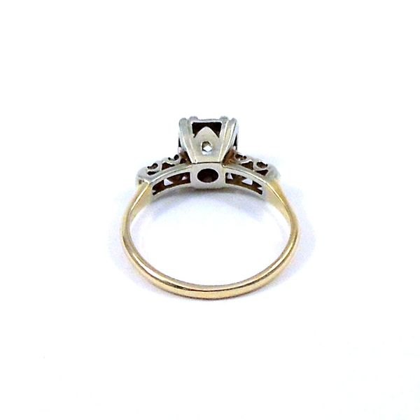 Vintage Diamond Engagement Ring Image 3 Joint Venture Jewelry Cary, NC