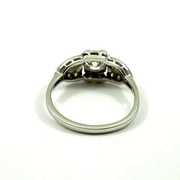 Vintage Old Euro Cut Diamond Engagement Ring Image 3 Joint Venture Jewelry Cary, NC