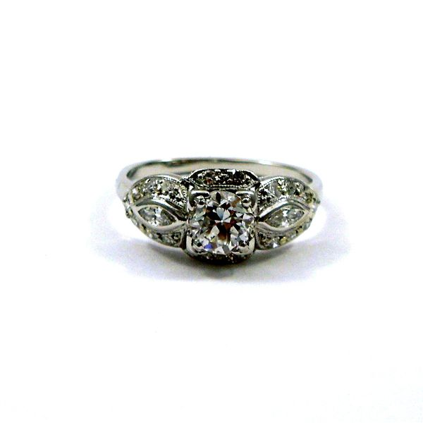 Vintage Old Euro Cut Diamond Engagement Ring Joint Venture Jewelry Cary, NC