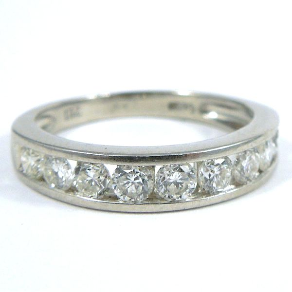 Platinum Diamond Band Joint Venture Jewelry Cary, NC