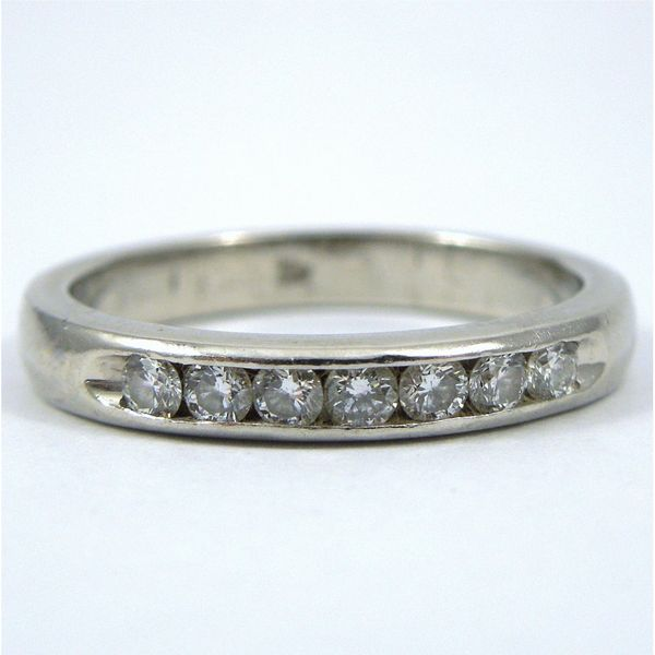Platinum Diamond Wedding Band Joint Venture Jewelry Cary, NC