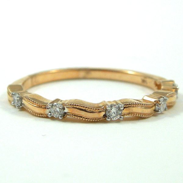 Stackable Diamond Wedding Band Joint Venture Jewelry Cary, NC
