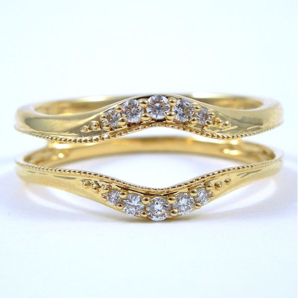 Guard Wrap Style Wedding Band Joint Venture Jewelry Cary, NC