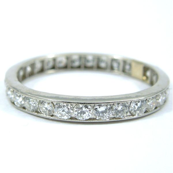 Diamond Eternity WeddingBand Joint Venture Jewelry Cary, NC